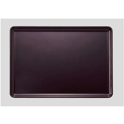 送料無料 Daiwa|プラスチック製|耐熱FRPノンスリップトレー 10個セット/10個以上端数注文可 尺3寸耐熱布目長手盆ノンスリップ 新溜(390×270×H17mm) (台和)[ND-20]