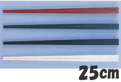 箸 業務用箸 23cm PBT樹脂製 ニューエコレン中華箸 23cm ノーマル(50膳入) グリーン(50膳入) (6-1641-2602)