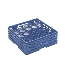 【食器洗浄機用ラック】【プラスチック製】【業務用】マスターラックステムウェアラックブルー(KK-7025-197)【関東プラスチック工業】