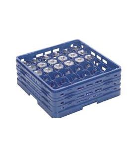 【食器洗浄機用ラック】【プラスチック製】【業務用】マスターラックステムウェアラックブルー(KK-7036-197)【関東プラスチック工業】