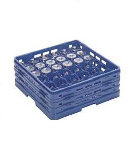 【食器洗浄機用ラック】【プラスチック製】【業務用】マスターラックステムウェアラックブルー(KK-7036-254)【関東プラスチック工業】