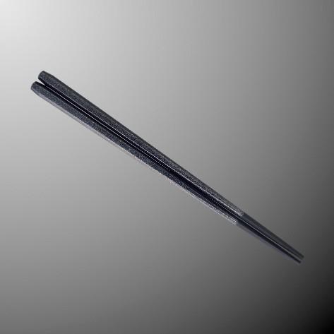 ※50個セットPBT(塗り) 22.5cm六角箸 226Xmm シルバーグレー[H92SGY] マルケイ 業務用 E3