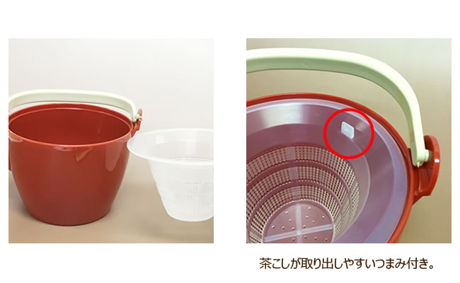 3L プラスチック製 どびん(急須) 信濃化学・SHINCA ジャンボ土瓶 [3l-aka]□G0□食洗機使用可能(食洗機対応) 割れにくい 急須 ポリカーボネート製 耐久性 大容量