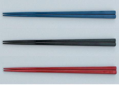 箸/50膳入 PPS製角箸 (21.5cm)(耐熱温度260℃) スリーライン[TC-21.5] 業務用 定番 プラスチック製 樹脂製 食器 はし 食堂 施設