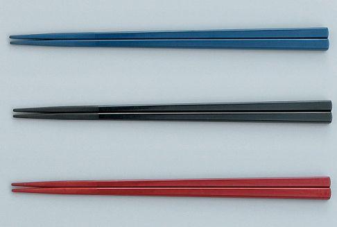 箸/50膳入 PPS製角箸(22.5cm)(耐熱温度260℃) スリーライン[TC-225] 業務用 定番 プラスチック製 樹脂製 食器 はし 食堂 施設