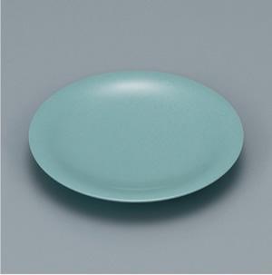 ※受注生産品 100枚セット/メラミン製寿司皿 回転寿司 高台和皿(青磁) スリーライン[505-MS] 食器 寿司用 和皿 取り皿 プラスチック製 業務用