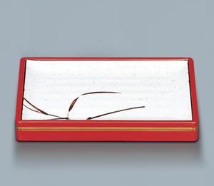 盛込プレート用 木製枠(小)(朱金線)350×250×50 スリーライン[YK-400SG] バイキング ビュッフェ 盛り付け用 ※枠のみ