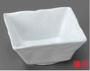 強化セラミック スーパー青白磁石目角小鉢 12.5×12.5×5.7cm うつわ(Vol.15)[83-8-205] 10点セット/10点以上端数注文可