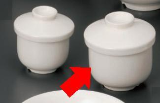 【軽量強化セラミック/和食器】【10個セット/10個以上端数注文可】うつわ ナーシングウェア 茶碗むし(大) 9.6×9.9cm(320cc) 56861273 [568-61-273]