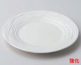 強化セラミック/丸皿 送料無料 10個入 うつわ NBヴェブ21cm丸皿 20.7×2.1cm 58803201 [221-11-203]