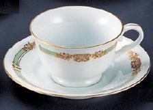 【強化セラミック/洋食器】【送料無料】【10個セット/10個以上端数注文可】うつわ ジュネーブ コーヒー・紅茶兼用C/S(カップ・ソーサー) 200cc 62320601[648-20-603]
