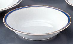 強化セラミック マリーンブルー 7 1/2吋クープ皿 653-47-603] うつわ(Vol.15)[639-17-625] 10点セット/10点以上端数注文可