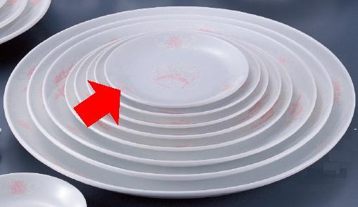 熱に強く 割れにくい うつわ の中華食器 強化セラミック 紅鳳 柄付き 6 Vol.15 2吋丸皿 モデル着用&注目アイテム 688A-26-555 1 10点以上端数注文可 16.5×2cm 無料 10点セット