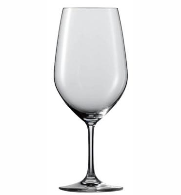 ワイングラス・セット 世界ソムリエ大会公式グラス ZWIESEL(ツヴィーゼル)・ヴィーニャ ボルドー(大) 110496(626cc)(入数:6)(EBM20-1)(1341-10)
