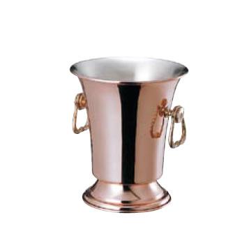 送料無料 ワイン・バー用品 卓上用品 ワイン/シャンパンクーラー 銅製 ワインクーラースタンド付S-2110(EBM18-1)(1328-07)