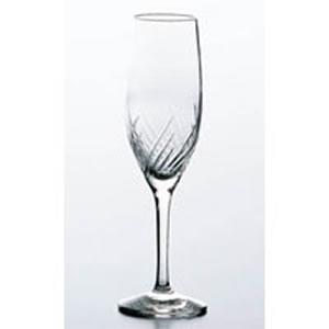 ワイングラス セット トラフ フルートシャンパン 30G54HS-E101(165cc)(入数:6)(EBM18-1)(1261-06)
