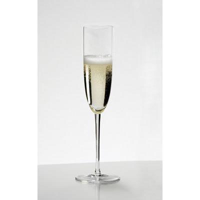 送料無料 ワイングラス スパークリング RIEDEL・リーデル(ソムリエシリーズ) シャンパン シャンパーニュ4400/8(170cc)(入数:1)(EBM18-1)(1232-01)
