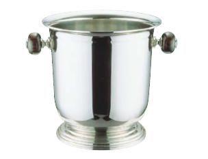 ワイン用品 ワイン・シャンパンクーラー UK 18-8ステンレス製 バロン シャンパンクーラー台付 M 3L (7-1815-0302)