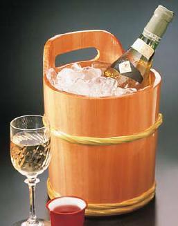 ワイン用品 ワイン・シャンパンクーラー サワラ ワインクーラー 2.9L (7-1822-1901)