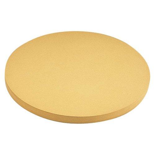 まな板 送料無料 中華用:45cm(Ф450)・厚さ30mm ゴム 中華まな板 (7-0354-0801)