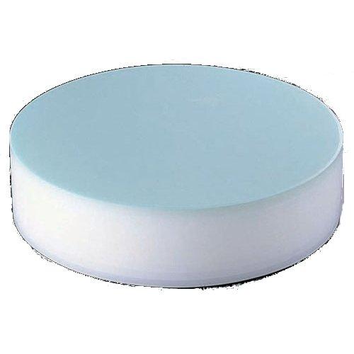 まな板 送料無料 中華用:特大・厚さ103mm 積層 プラスチックカラー中華まな板 ブルー ★ (7-0354-0401)