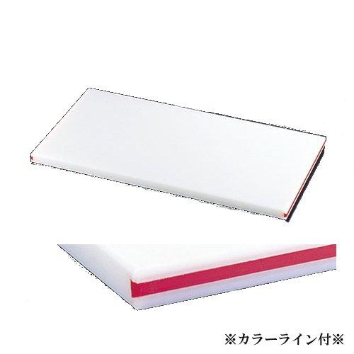 まな板 送料無料 住友 業務用 カラーライン付きスーパー耐熱まな板 赤 SSTWL 500×270×(30mm) ★ (7-0341-0310)