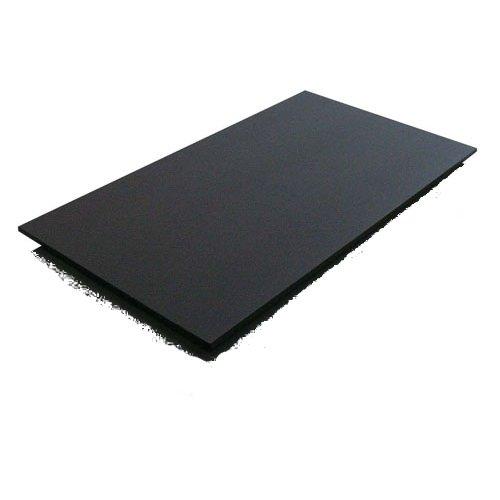 黒いまな板 ハイコントラストまな板K17 (2000×1000×10mm) 1枚 [★] (7-0347-0861)