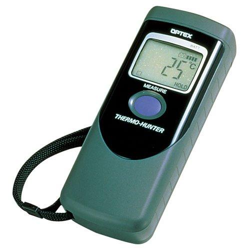 送料無料 放射温度計 食品用 非接触温度計 サーモハンター PT-2LD (7-0575-0801)