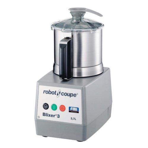 送料無料 液体と固形物を同時に粉砕攪拌する先進マシン★robot coupeロボ・クープブリクサー3D(7-0606-0501)