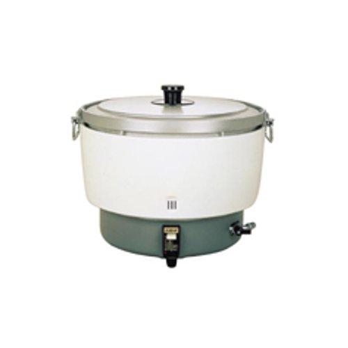 炊飯器 送料無料 大型バーナーで抜群の炊上げ性能! パロマ ガス炊飯器 PR-101DSS 20合~55合 12・13A (7-0654-0102)