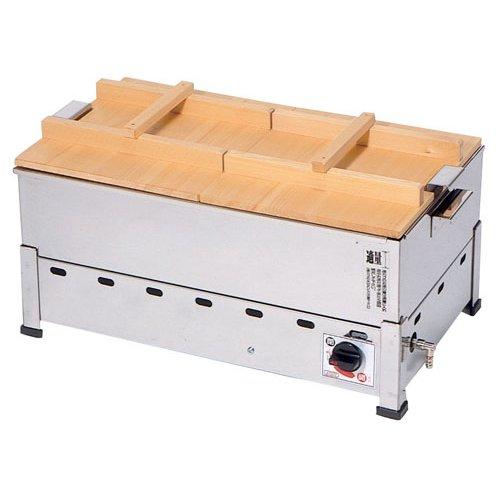 おでん鍋 送料無料 18-8ステンレス製 ガス式 おでん鍋 (湯煎式) KOT-1型 KOT-1-J 都市ガス (7-0775-0108)