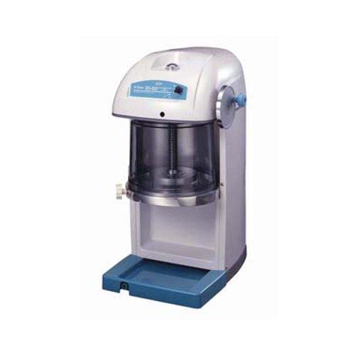 送料無料 かき氷機 スワン 電動式 ブロック アイスシェーバー SI-80(ギヤー駆動式) (7-0886-0401)