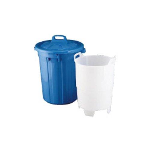 代引不可 清掃用品・ゴミ箱・ペール 送料無料! 生ゴミ水切り容器GK-60(中容器付き)(7-1321-0801)