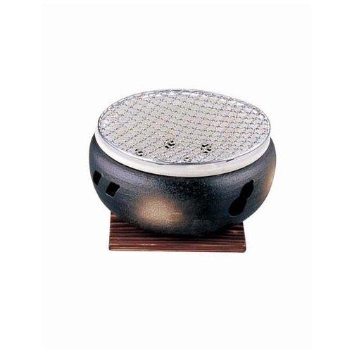 遠赤外線炭火焼ですべての素材がおいしく調理できる! 伊勢炭焼水コンロ 大10号(6-1963-1801)