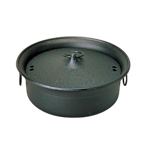 IH対応! しゃぶしゃぶ鍋25.5cm 五進 鉄しゃぶ鍋 (7-1997-0401)