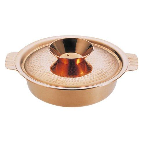 ! チリ鍋・季節鍋・鍋物29cm 銅製 SW 銅 チリ鍋 29cm (7-1998-0103)