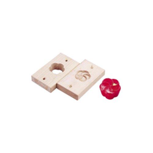 和菓子用品・型 お菓子作り・道具 職人が一つ一つ丁寧に仕上げた手彫物相型 上生菓子用 ねじ梅 (7-1092-0201)