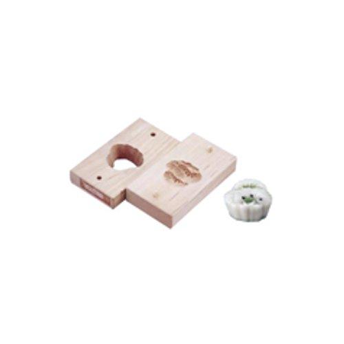 和菓子用品・型 お菓子作り・道具 職人が一つ一つ丁寧に仕上げた手彫物相型 上生菓子用 三階松 (7-1092-0301)