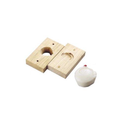 和菓子用品・型 お菓子作り・道具 職人が一つ一つ丁寧に仕上げた手彫物相型 上生菓子用 鶴 (7-1092-0601)