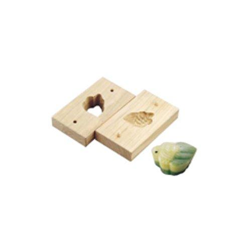 和菓子用品・型 お菓子作り・道具 職人が一つ一つ丁寧に仕上げた手彫物相型 上生菓子用 みの亀 (7-1092-0701)
