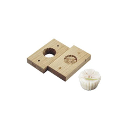 和菓子用品・型 お菓子作り・道具 職人が一つ一つ丁寧に仕上げた手彫物相型 上生菓子用 撫子 (7-1092-1201)