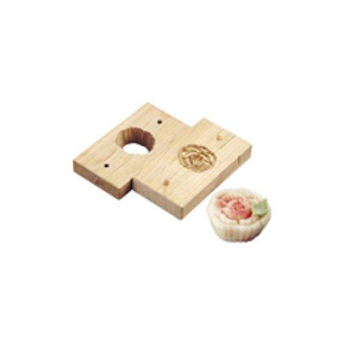 和菓子用品・型 お菓子作り・道具 職人が一つ一つ丁寧に仕上げた手彫物相型 上生菓子用 ボタン (7-1092-1901)