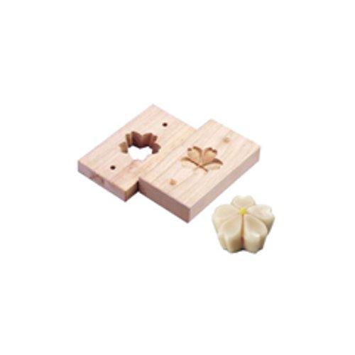 和菓子用品・型 お菓子作り・道具 職人が一つ一つ丁寧に仕上げた手彫物相型 上生菓子用 桜花 (7-1092-2401)