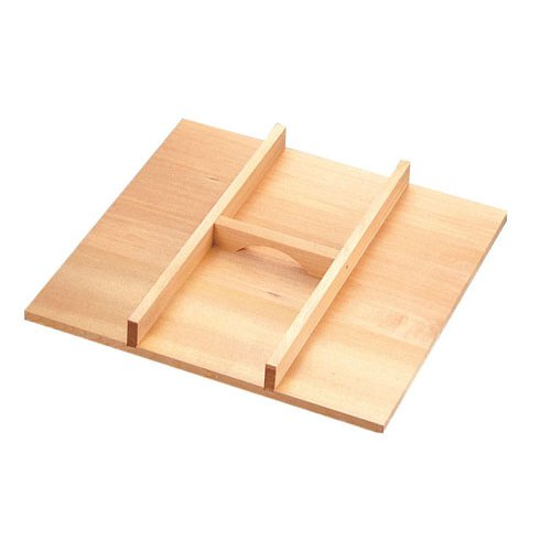 木製角セイロ用手つきふた(サワラ材)45cm用 (7-0389-0606)