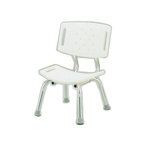 介護入浴用品 便利で安心なシャワーチェア! シャワーチェア 背もたれ付 CFN5004 (7-2385-0601)