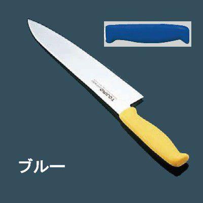 包丁・ナイフ TOJIRO エコクリーン トウジロウ カラー包丁 牛刀(両刃) 30cm ブルー E-189BL (6-0307-0919)