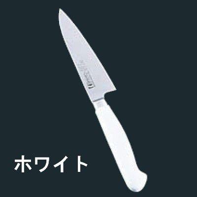 送料無料 包丁・ナイフ 抗菌カラー包丁 牛刀(両刃) MGK-240 24cm ホワイト (6-0309-0517)