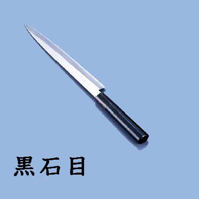 包丁・ナイフ 歌舞伎調和包丁 忠舟 柳刃 24cm 黒石目(6-0275-0902)