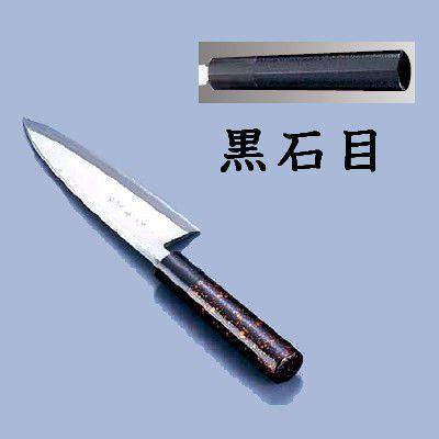 包丁・ナイフ 歌舞伎調和包丁 忠舟 出刃 18cm 黒石目(7-0283-1008)