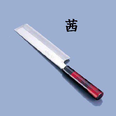 【包丁・ナイフ】歌舞伎調和包丁 忠舟 薄刃 19.5cm 茜(6-0275-1106)